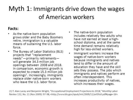 a comparison of early immigrants and todays immigrants Supporters of today's mass immigration like to claim that we should not be concerned about it, because it is no worse than the great wave of immigration at the turn of the last century.
