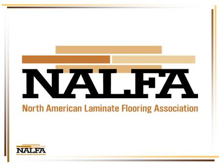 Our industry has come a long way! The Laminate Flooring Industry.