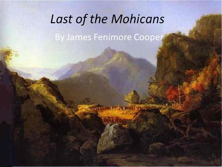 By James Fenimore Cooper