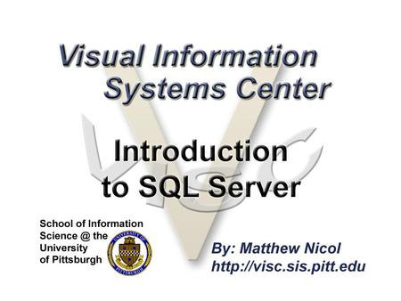 Overview What is SQL Server? Creating databases Administration Security Backup.