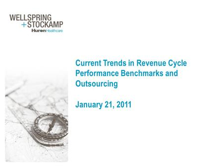 Current Trends in Revenue Cycle Performance Benchmarks and Outsourcing