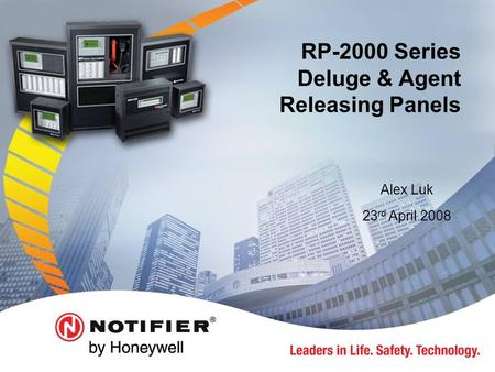 RP-2000 Series Deluge & Agent Releasing Panels