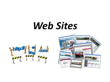 Web Sites. When the Internet first came popular, people wanted a way to get: – Known – Get their opinions out – Make money Creating a web site was a way.