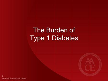 1 The Burden of Type 1 Diabetes. 2 Incidence and Prevalence of Type 1 Diabetes Type 1 diabetes mellitus (T1DM) is the major type of diabetes in youth.