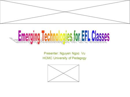 Presenter: Nguyen Ngoc Vu HCMC University of Pedagogy.