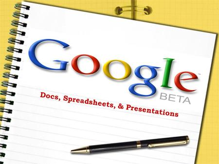 Docs, Spreadsheets, & Presentations. What Do YOU Know???