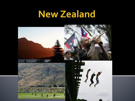 New Zealand is proximately the same size as Colorado and is very mountainous. The country is made up of a northern island and a southern island. The northern.