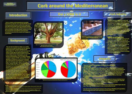 Cork is a natural, environmental and renewable industrial raw material, and is typically Mediterranean in the sense that this area is home to the majority.