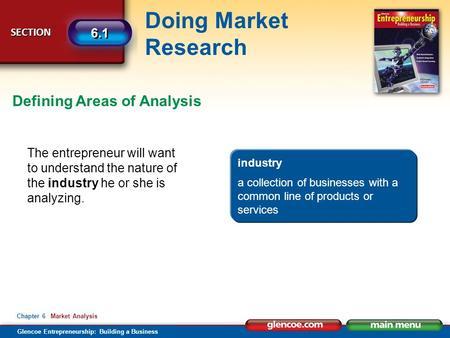 Glencoe Entrepreneurship Building A Business Chapter