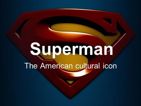Superman The American cultural icon. Invention The first Superman character created by Jerry Siegel and Joe Shuster was not a hero, but rather a bald.