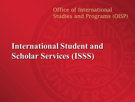 Culture personal and academic objectives of - International student services office ...
