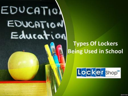 Types Of Lockers Being Used in School. School lockers have been a feature of educational establishments for many decades, helping to keep belongings safe.