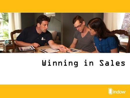 Winning in Sales. Stop and Assess What is your current structure? What are your current goals? Look at: Pricing structure Closing Ratios Dig into the.