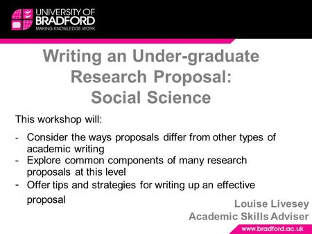 "research proposal in social science A social research proposal can be defined as, ""a document written by a social scientist that describes in details the program for a proposed scientific investigation."