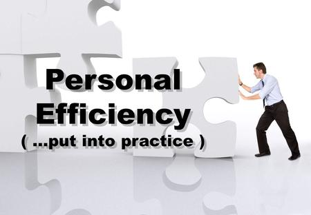 Contact or find soren ellegaard on LinkedIn Personal Efficiency ( …put into practice ) Personal Efficiency ( …put into practice )
