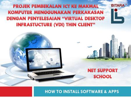 HOW TO INSTALL SOFTWARE & APPS 1. 2 AGENDA 11 HOW TO INSTALL SOFTWARE AND APPLICATIONS.