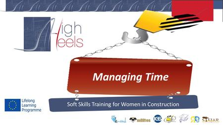 Managing Time Soft Skills Training for Women in Construction.