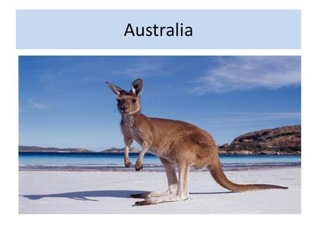 Australia. A Common Heritage Australians share many characteristics with British people because many Australians are descendants of: – English explorers.