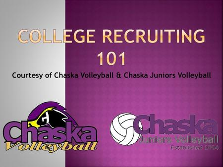 Courtesy of Chaska Volleyball & Chaska Juniors Volleyball.