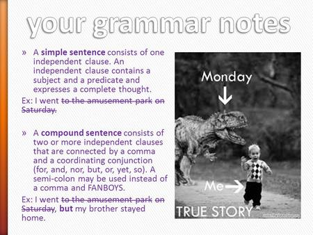 Happy Monday!! Add these definitions to your grammar notes
