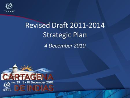 Revised Draft 2011-2014 Strategic Plan 4 December 2010.