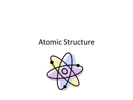 Atomic Structure. What Is An Atom? the smallest particle of an element that retains the chemical properties of that element Can be subdivided into electrons.