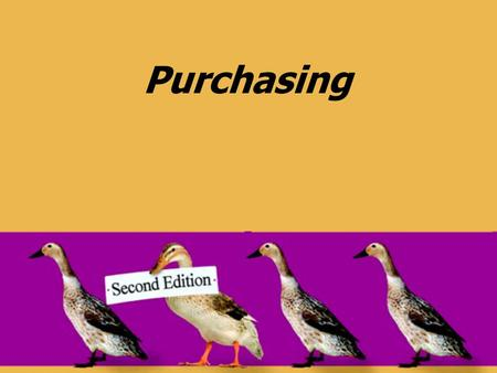 Purchasing. © 2008 Pearson Prentice Hall --- Introduction to Operations and Supply Chain Management, 2/e --- Bozarth and Handfield, ISBN: 0131791036 Chapter.