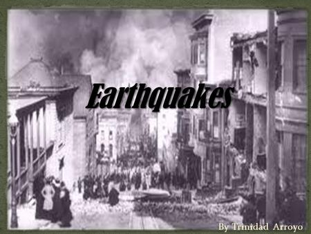 By Trinidad Arroyo. This gradual accumulation and release of stress and strain is now referred to as the elastic rebound theory of earthquakes. Most.