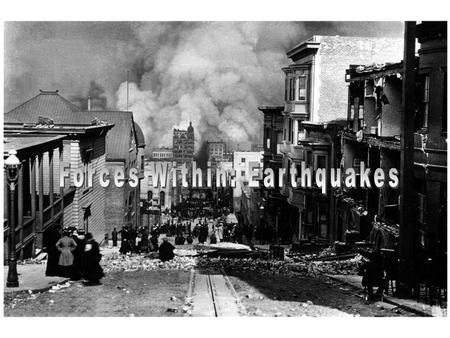 What is an Earthquake? An earthquake is the vibration of the Earth caused by a rapid release of energy. The focus is point in the Earth where the release.