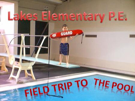 Come on! Let's take a field trip to the Timberline High School Pool.