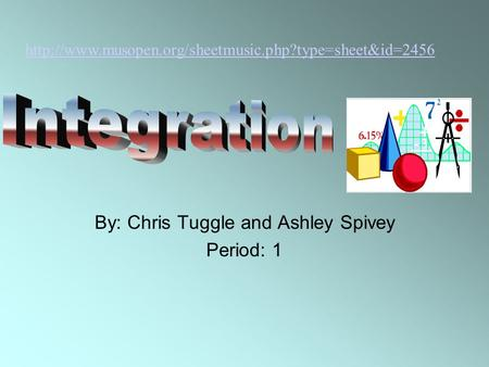 By: Chris Tuggle and Ashley Spivey Period: 1