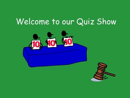 Welcome to our Quiz Show. The Florida Courts Scavenger Hunt.