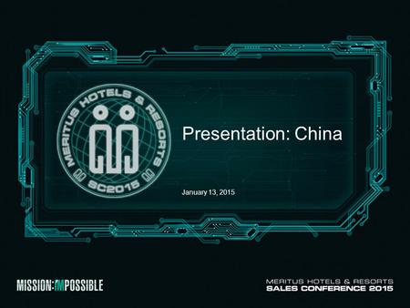 Presentation: China January 13, 2015. Team Introduction GSO Shanghai.