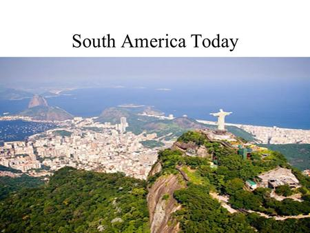 South America Today. Indigenous Cultures European Contact: –Spanish, Portuguese and other Europeans changed culture and lives of native people –Introduced.