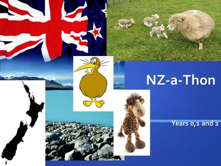 NZ-a-Thon Years 0,1 and 2 Years 0,1 and 2. Week 1 questions Places Places.