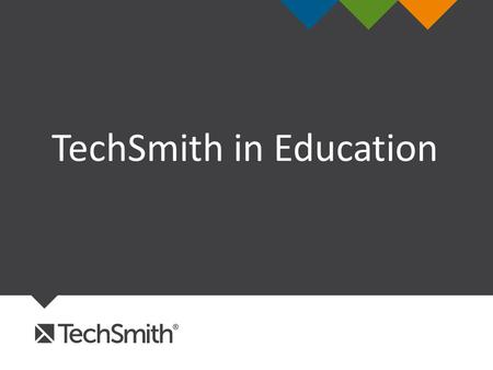 TechSmith in Education. AGENDA  MISSION  AT A GLANCE  HOW WE HELP  IN EDUCATION  YOUR ROLE  EDTECH TOOLS  MOBILE SOLUTIONS  CONNECT WITH US.