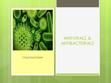 antimicrobial agents antibacterials and antifungals pdf