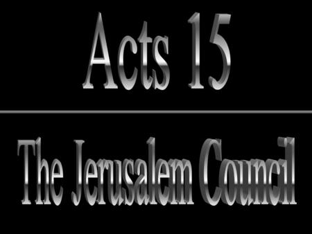 Outline of Acts 1:8 1 st Journey – Shifting of the Brotherhood's Center of Gravity Jews Gentiles.