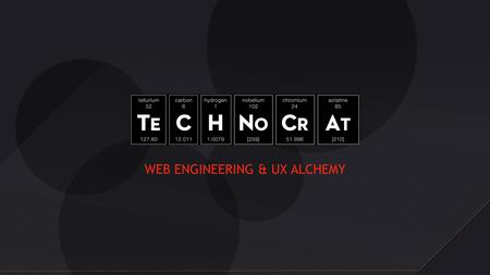 WEB ENGINEERING & UX ALCHEMY. Our Services UX Perfectly blended user experiences that lead to increased consumer engagement and conversion. Precision.