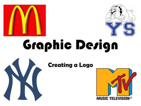 Graphic Design Creating a Logo. Graphic Design Commercial artists create interesting designs, layouts, typography, and more! Graphic Design work includes: