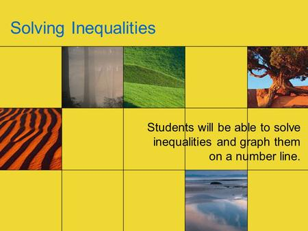 how to solve inequalities and graph them