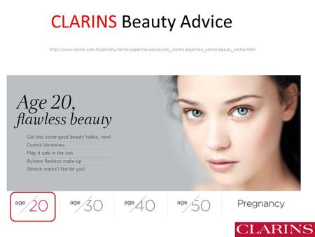CLARINS Beauty Advice