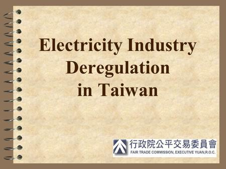 Energy Regulations and Electricity Deregulation in Japan