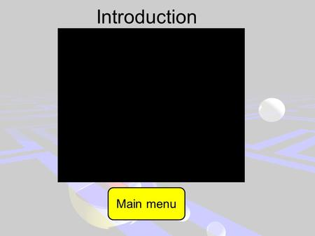 Introduction Main menu Pacman In curse of the cursor Start Instructions.