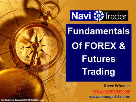 Forex trading with fundamentals