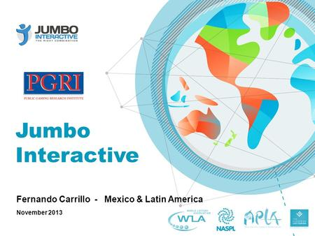 Jumbo Interactive Fernando Carrillo - Mexico & Latin America November 2013.