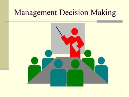 1 Management Decision Making. 2 Lecture Outline Cost Volume Profit Analysis Equation Method Assessment of Risk Assumptions Contribution Margin Method.