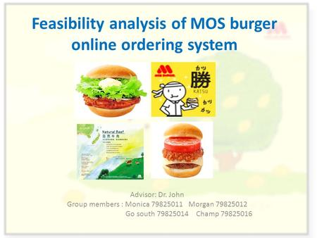 feasibility study for food ordering system Keywords: information feasibility ict system dairy industry 1  in order to  describe production dynamic  livestock experts remote diagnostics and online.