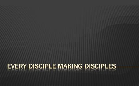 "What is Our Mission? Our mission is to ""make disciples"" of all peoples through the Spirit-empowered speaking of the Word of God (the gospel) ""disciple-making"""