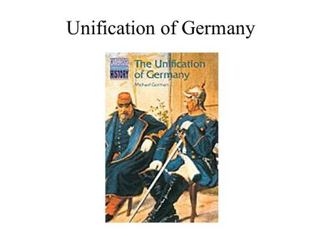 Unification of Germany. Between 1807 and 1812, Napoleon made major changes to the territorial states of Germany. He gained a number of European lands.